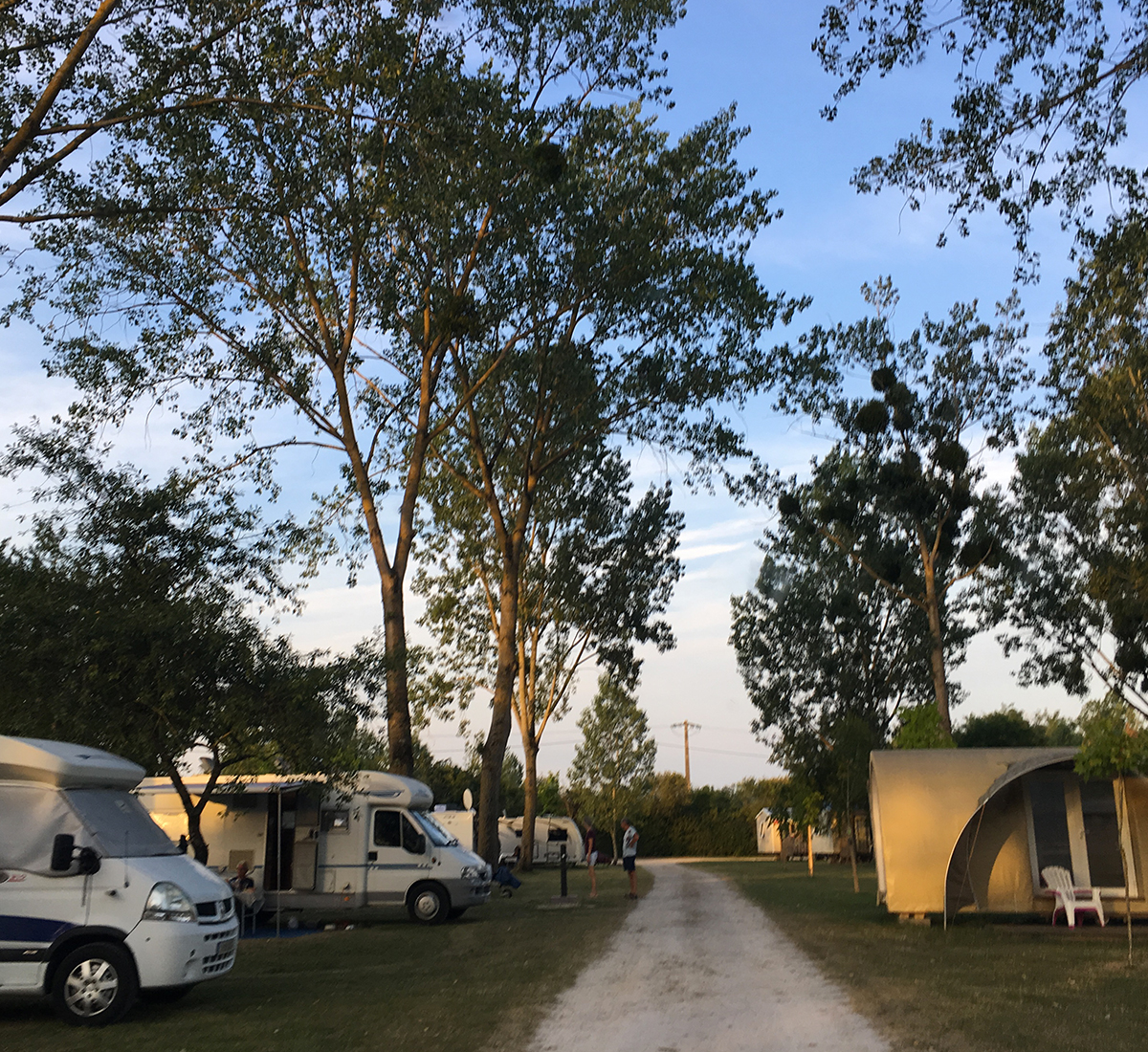 tente camping loir et cher